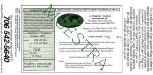 Muestra Certificacion
