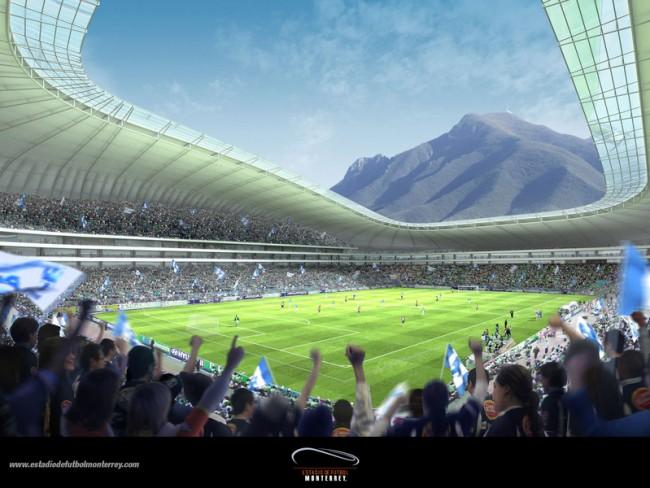 Tendrá estadio de Rayados pasto de nivel mundialista
